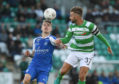 Dublin , Ireland - 30 June 2016; Stephen McPhail of Shamrock Rovers in action against Robert Taylor of RoPS Rovaniemi during the UEFA Europa League First Qualifying Round 1st Leg game between Shamrock Rovers and RoPS Rovaniemi at Tallaght Stadium in Tallaght, Co Dublin. (Photo By David Maher/Sportsfile via Getty Images)