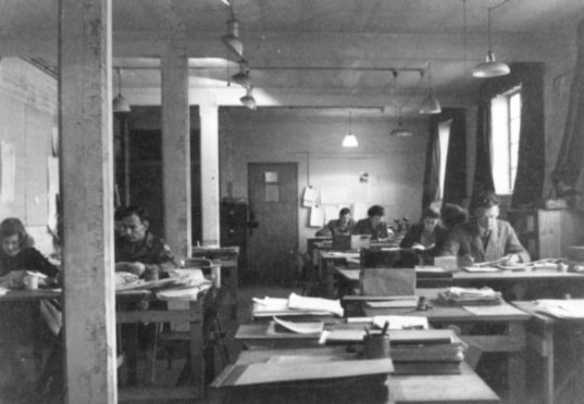 Pic courtesy of Bletchley Park.