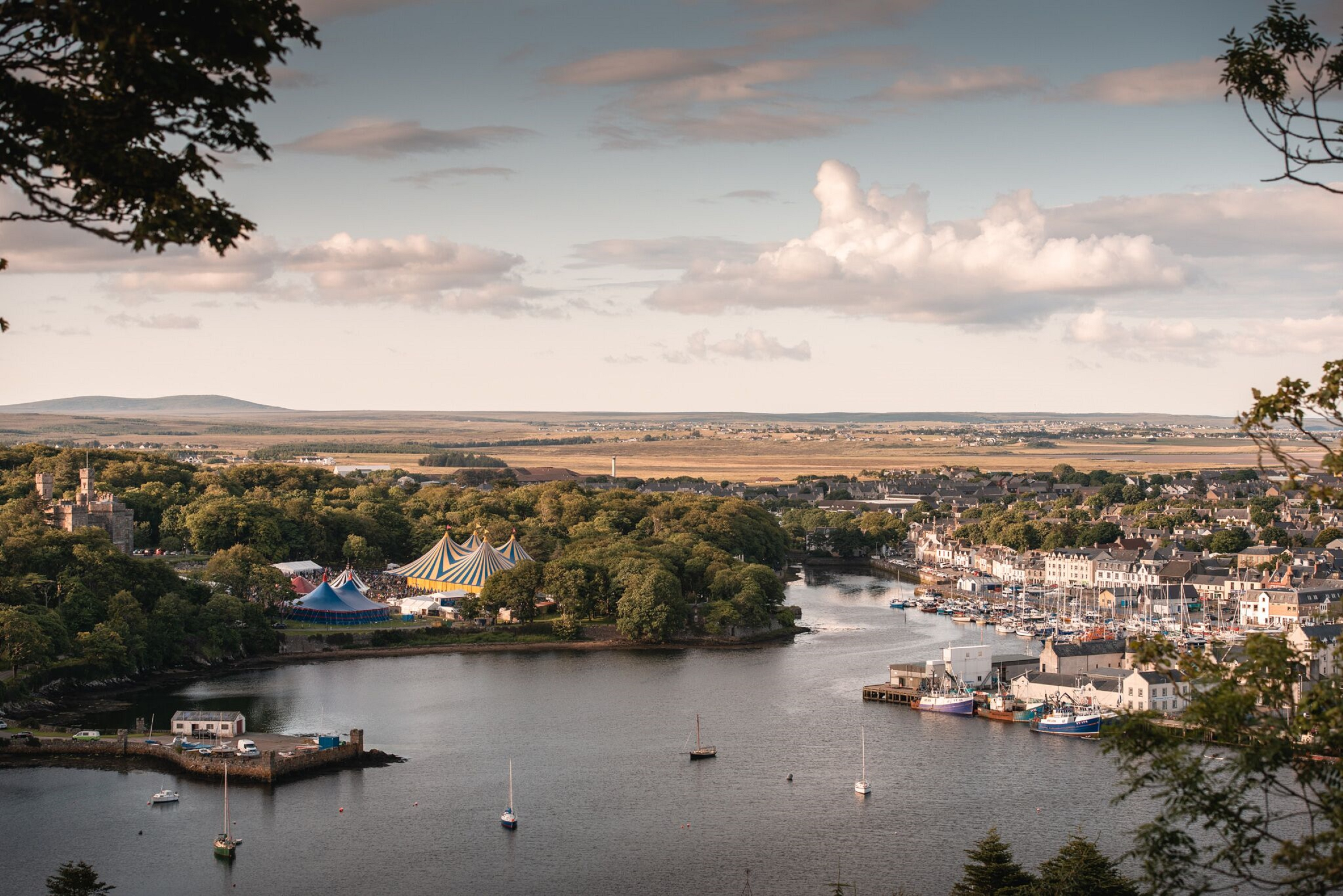The carnival atmosphere returned to Stornoway and the wider Lewis and Harris community as 18,000 flocked to HebCelt 2019. Picture by Paul McGinley