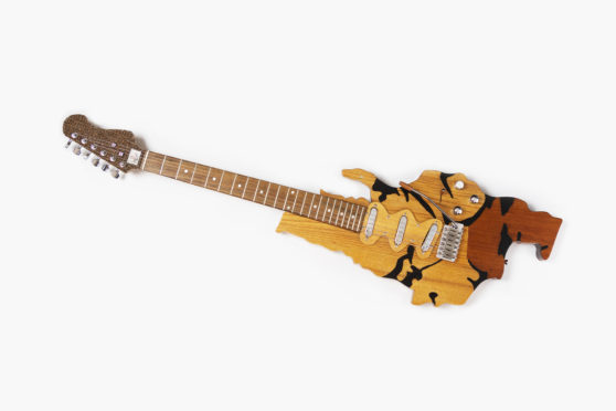 Bespoke Long Island guitar.