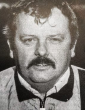 Inverness football coach John Beaton.