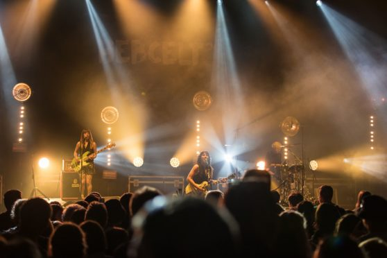 Headliner KT Tunstall has praised the festival after returning for the first time since 2011. Picture by Colin Cameron