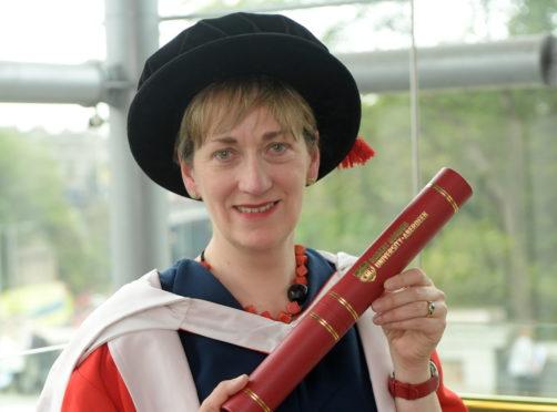 RGU honorary graduate Jo Macsween.