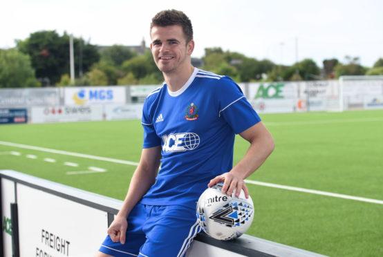 Ex-Cove Rangers midfielder Jamie Redman.