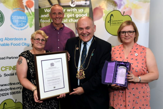 Cfine has been honoured with the Queen's Award for Voluntary Service.