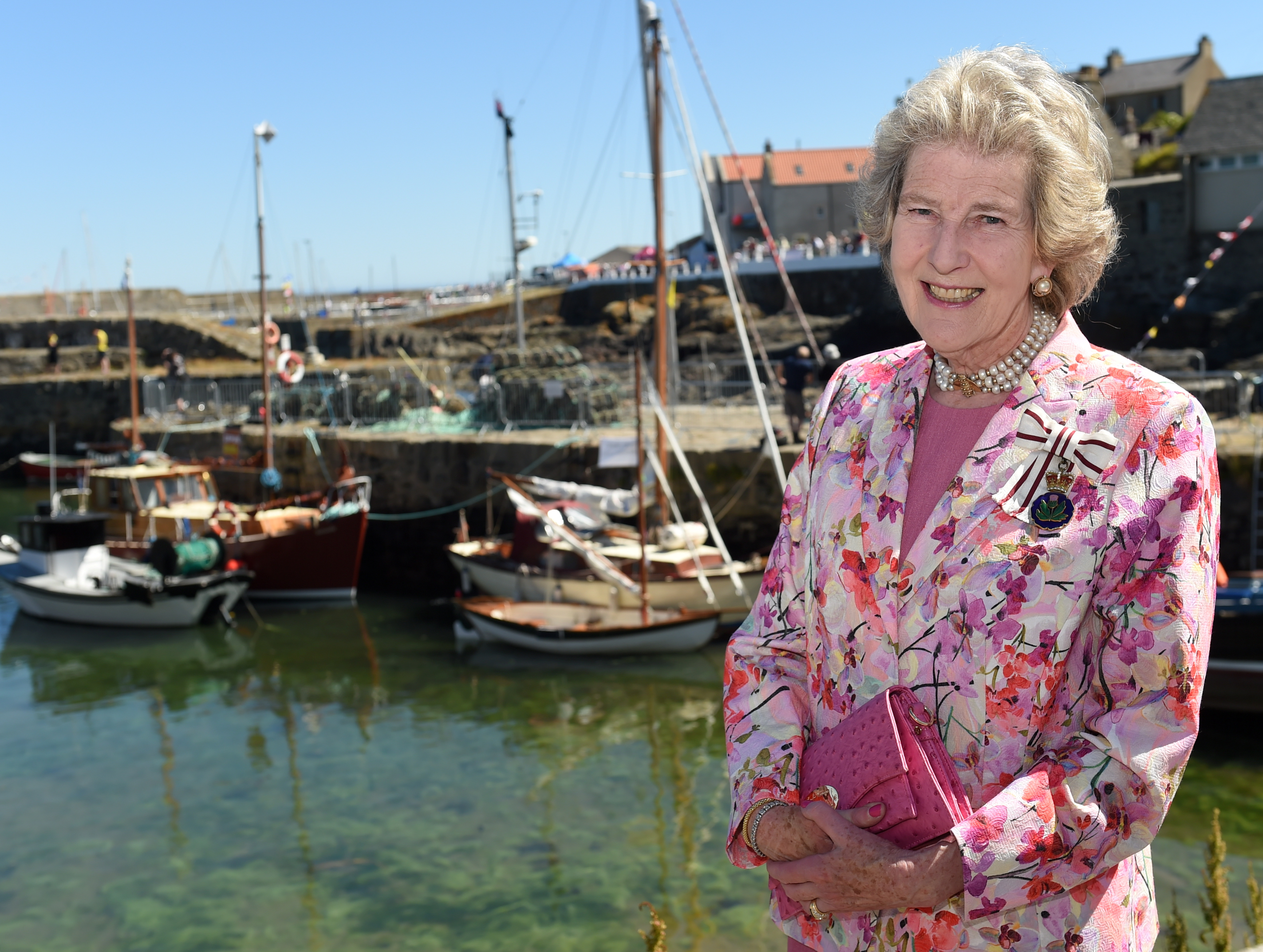 Lord Lieutenant of Banffshire, Clare Russell.