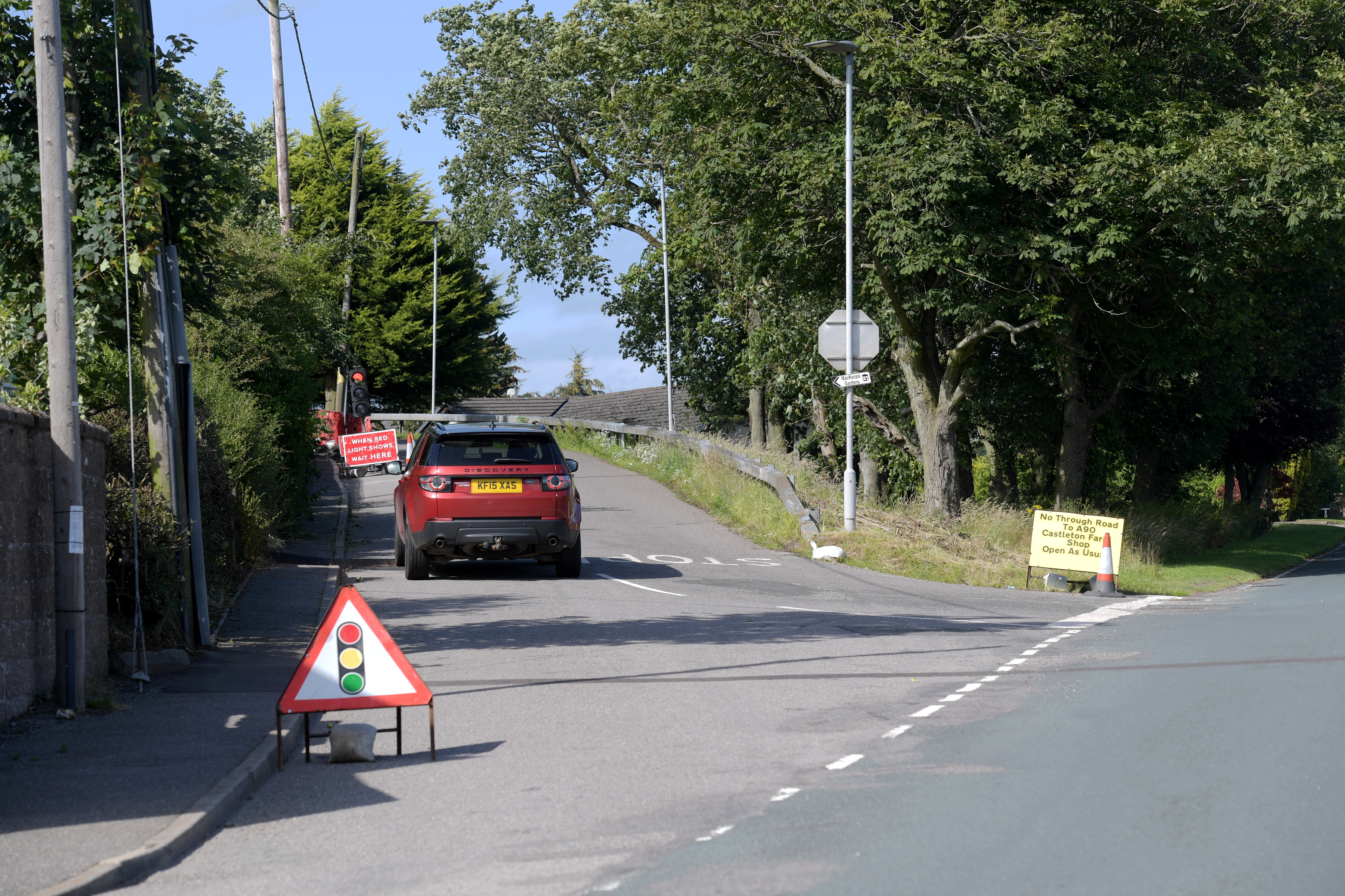 Fordoun Bridgehas reopened ahead of time.