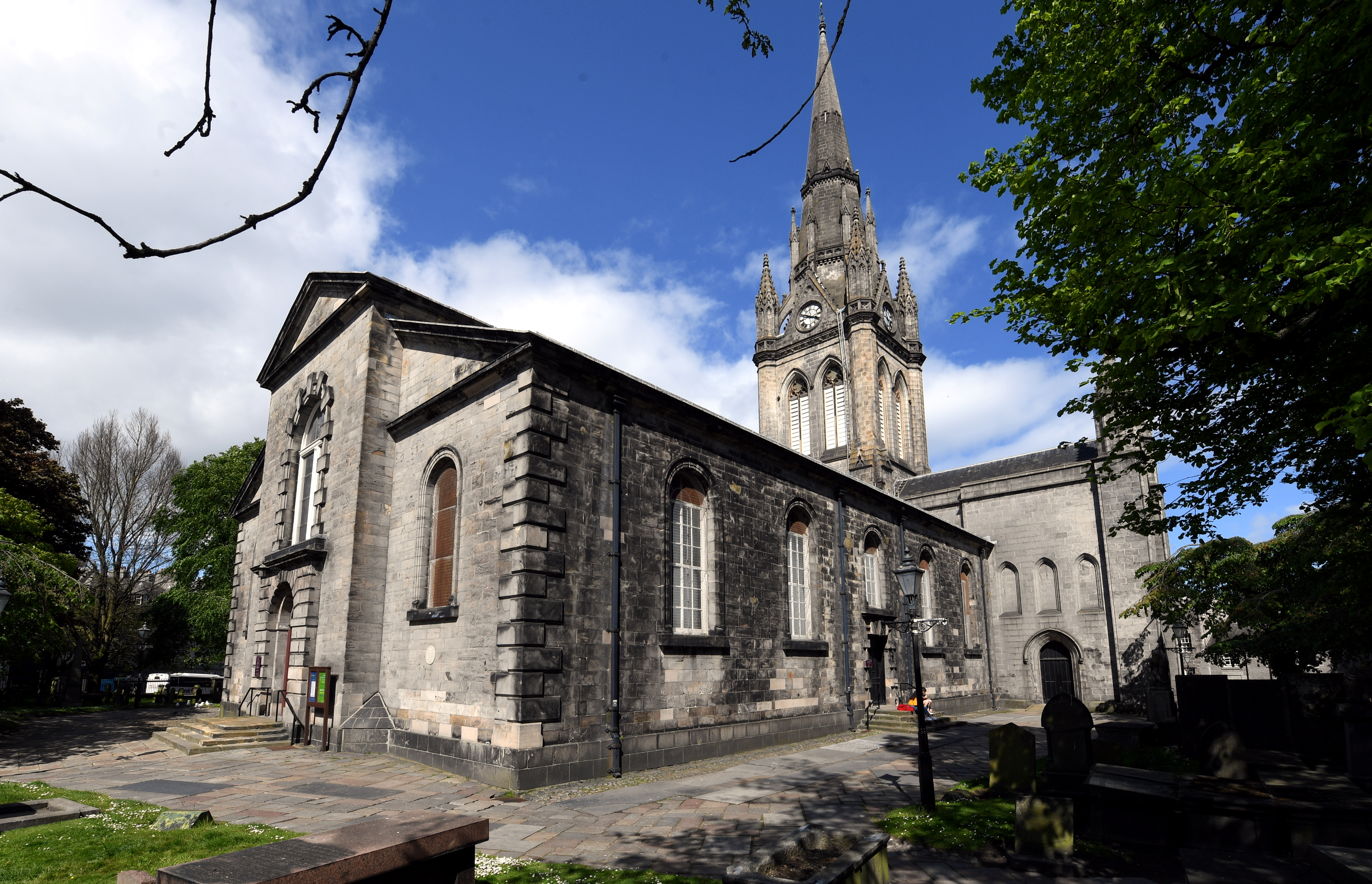CR00 St Nicholas Kirk, Church in Aberdeen.         Picture by Kami Thomson    03-06-19