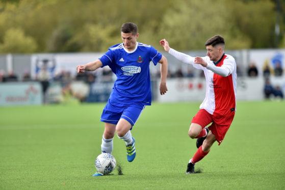 Cove midfielder Daniel Park.