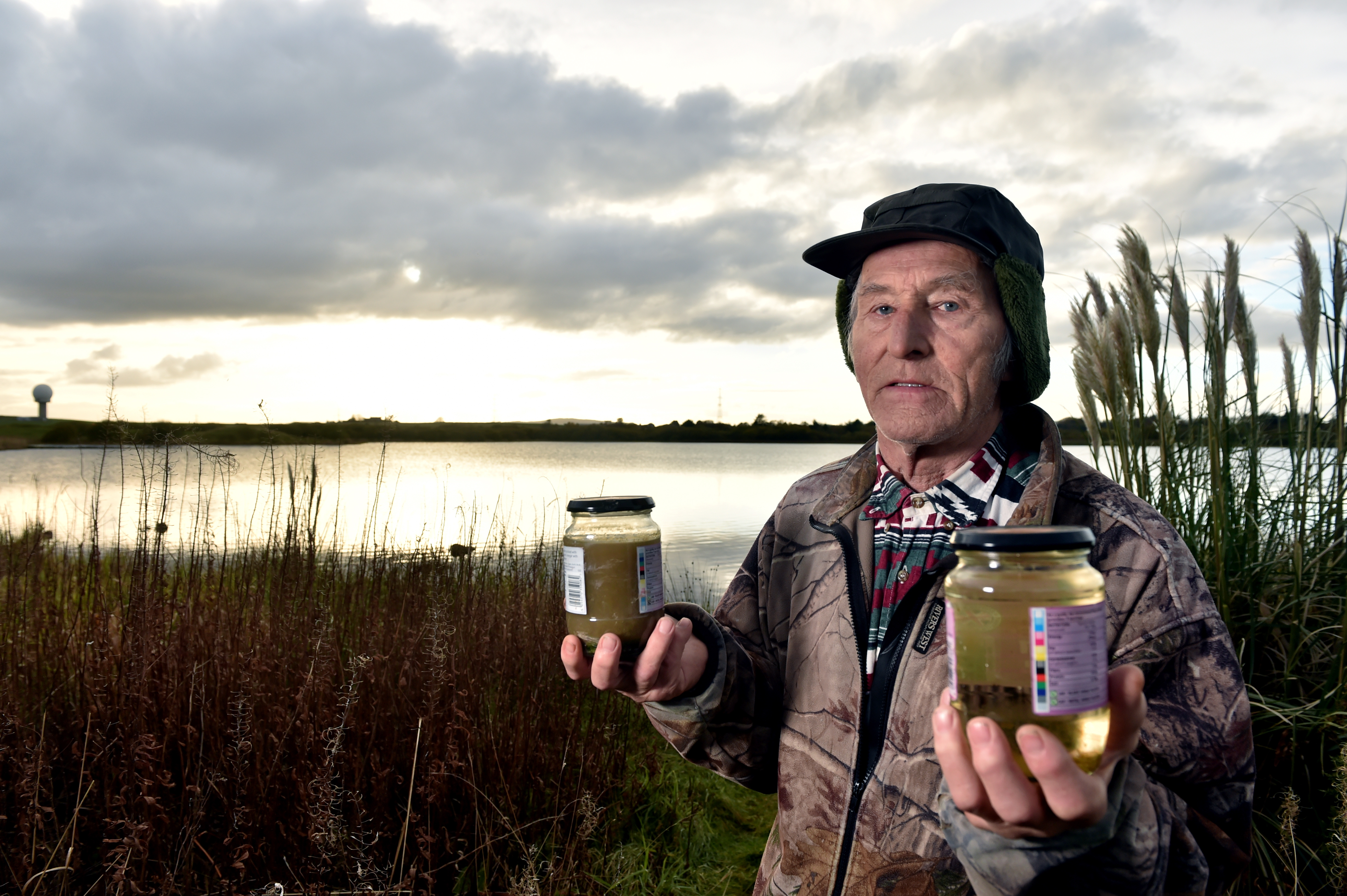 Ian Muir, a fisherman at the loch who claims the AWPR has destroyed the fishing at the loch.