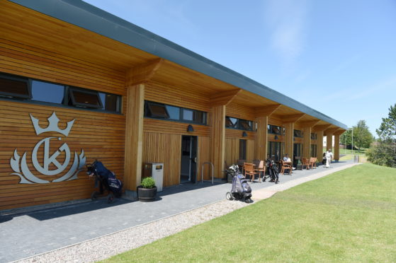 The new Kings Golf Course in Inverness which was played by its members for the first time yesterday.