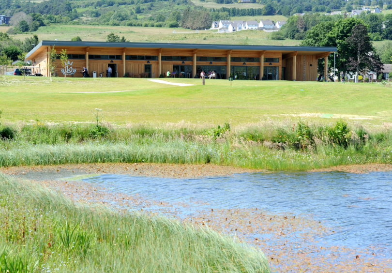 The new Kings Golf Course in Inverness