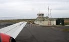 Stornoway Airport control tower. Picture by Sandy McCook