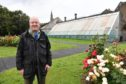 Glen Reynolds in the Vinery grounds