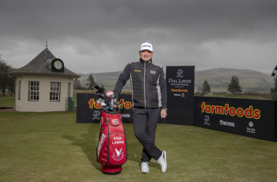 Aberdeen golfer Paul Lawrie.