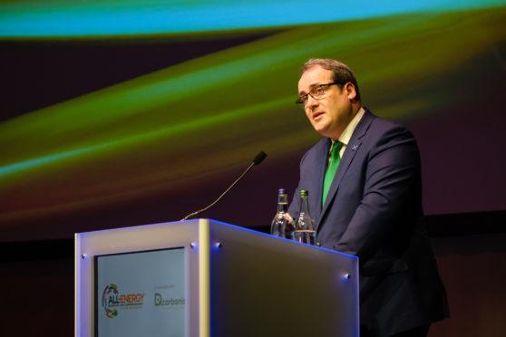 Scotland's Energy Minister Paul Wheelhouse