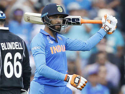 Ravindra Jadeja's brilliant knock steered India to the World Cup final.