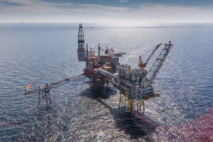 Repsol Sinopec Resources UK's Montrose Alpha platform.