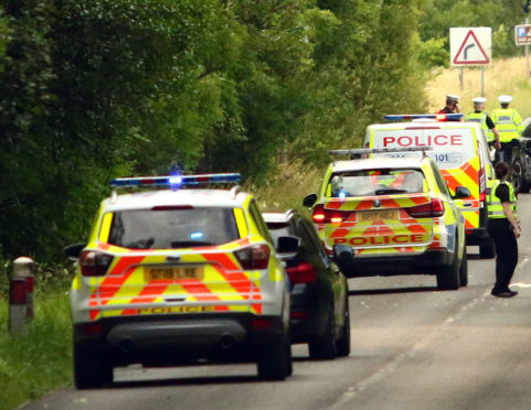 Air ambulance has been called to the scene of a three-vehicle crash.