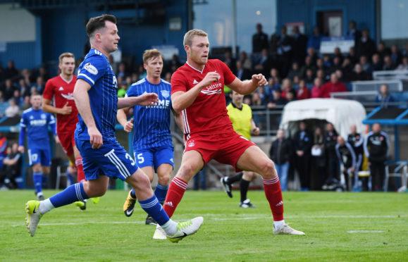 Sam Cosgrove opened the scoring against Peterhead