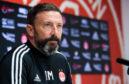 Aberdeen boss Derek McInnes.