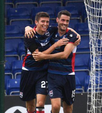 Ross Stewart (left) and Brian Graham.