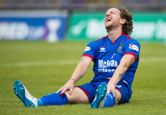 Caley Thistle winger Tom Walsh.