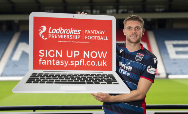 29/07/19 HAMPDEN PARK - GLASGOW Ross County's Marcus Fraser at Hampden Park for the 2019/2020 Ladbrokes Championship Captains Photocall.