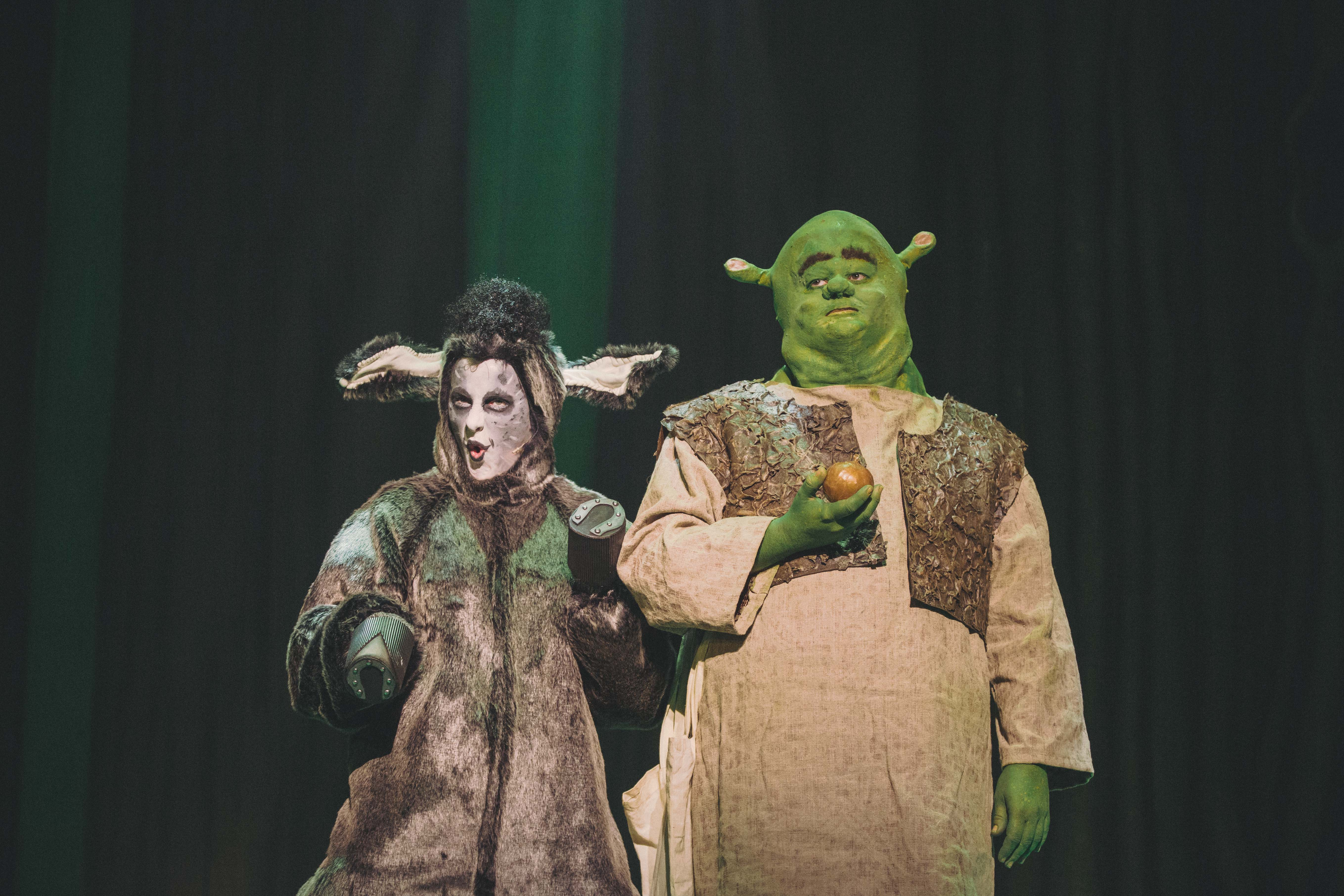 Audiences gave the amateur production of Shrek the Musical a standing ovation.
