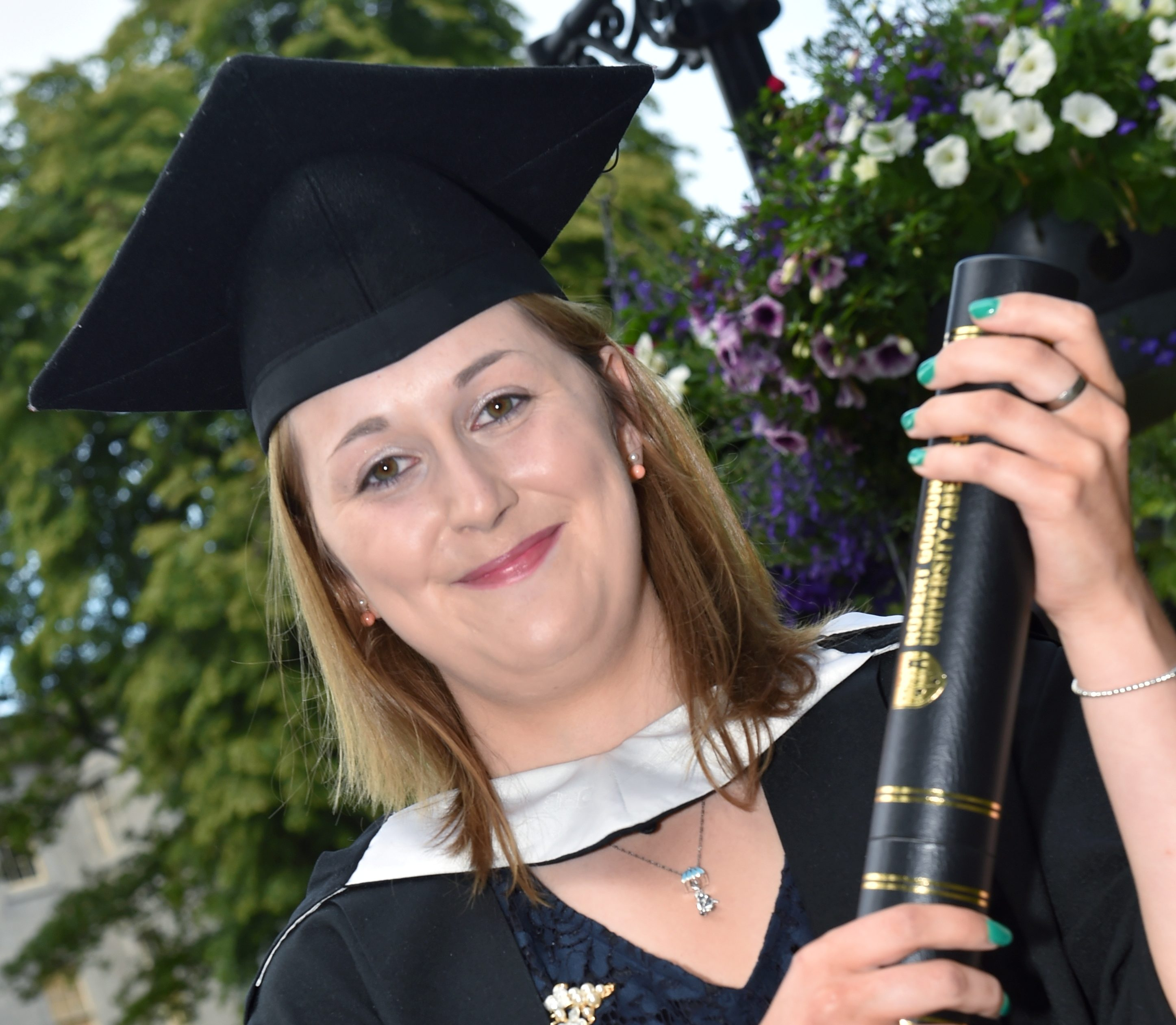 Sophie Allardes completed her media degree at RGU.