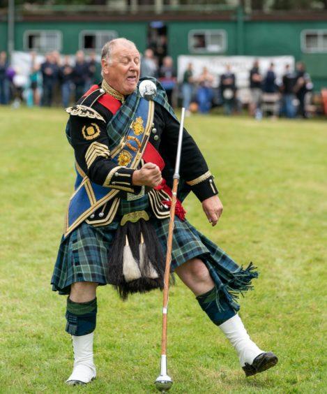Drum Major Bill Barclay