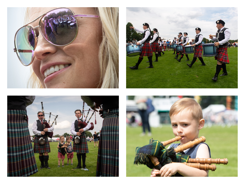 The European Pipe Band Championships were held in Inverness for the first time this year, Pictures by Jason Hedges