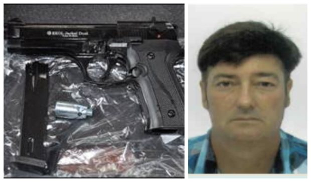 Robert Lockhart was jailed after being caught with a hoard of firearms and ammunition at his home in Argyll.