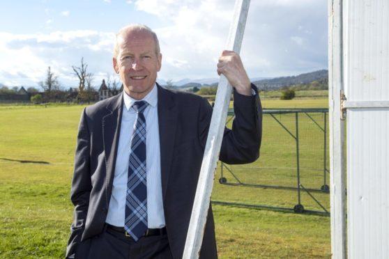 Aberdeenshire CC president, Willie Donald