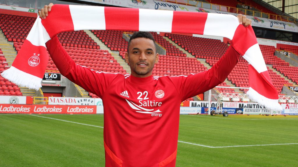 Funso Ojo signed for the Dons yesterday.