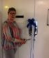 Jackie Knight re-opened the x-ray department at the Lawson Memorial Hospital