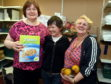 Left to right: Foodbank volunteers Angela Wilson, Winnie Coleman and Susan Allan.