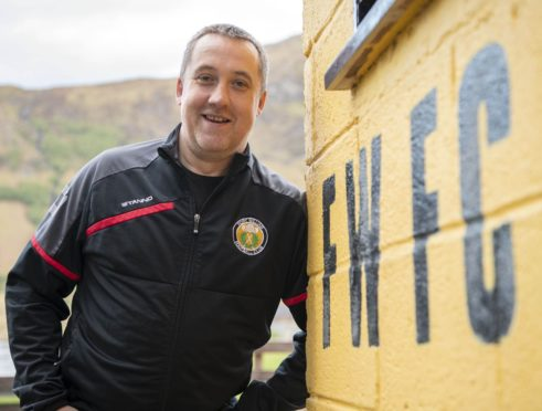 Fort William manager Russell MacMorran
