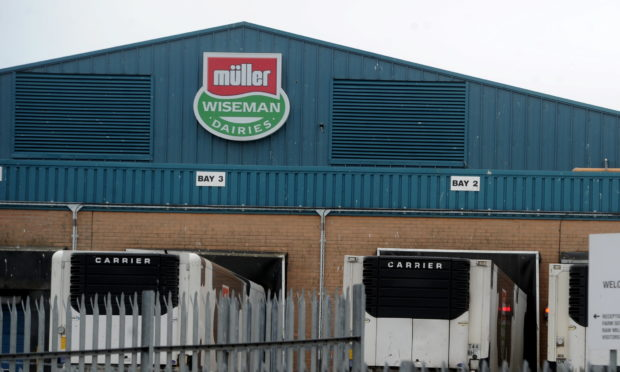 Locator of Muller Dairies, Craigshaw Drive Altens.