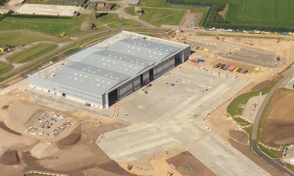 The Poseidon facility at RAF Lossiemouth