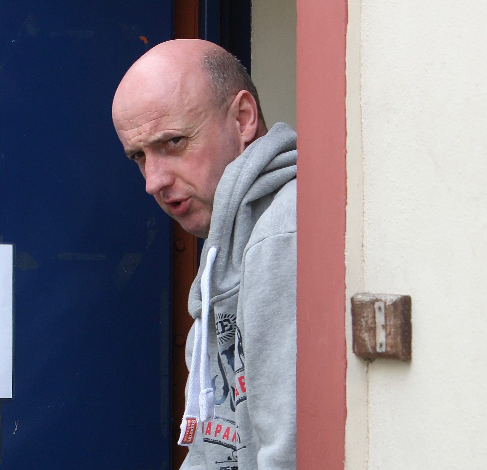 Lee Blackburn clocked-up hundreds of miles as he turned up unannounced at his victim's work