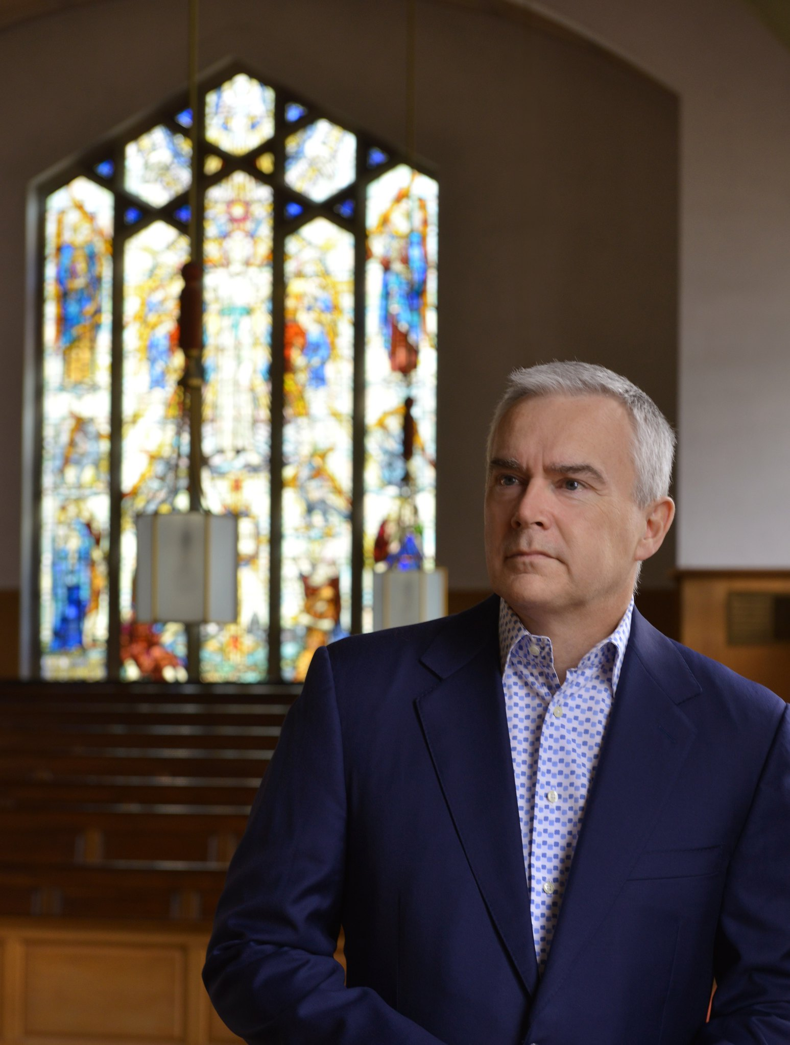 Huw Edwards is the vice president of The National Churches Trust