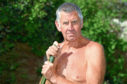 Alford naturist Robbie Gauld at home.          Picture by Kami Thomson