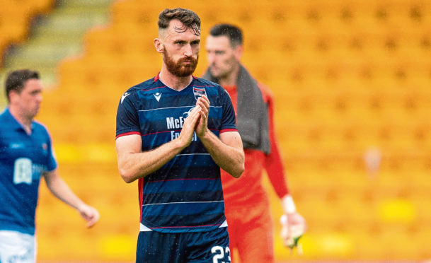 Joe Chalmers has left Ross County for Ayr United