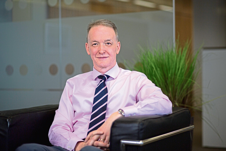 Wood chief executive Robin Watson