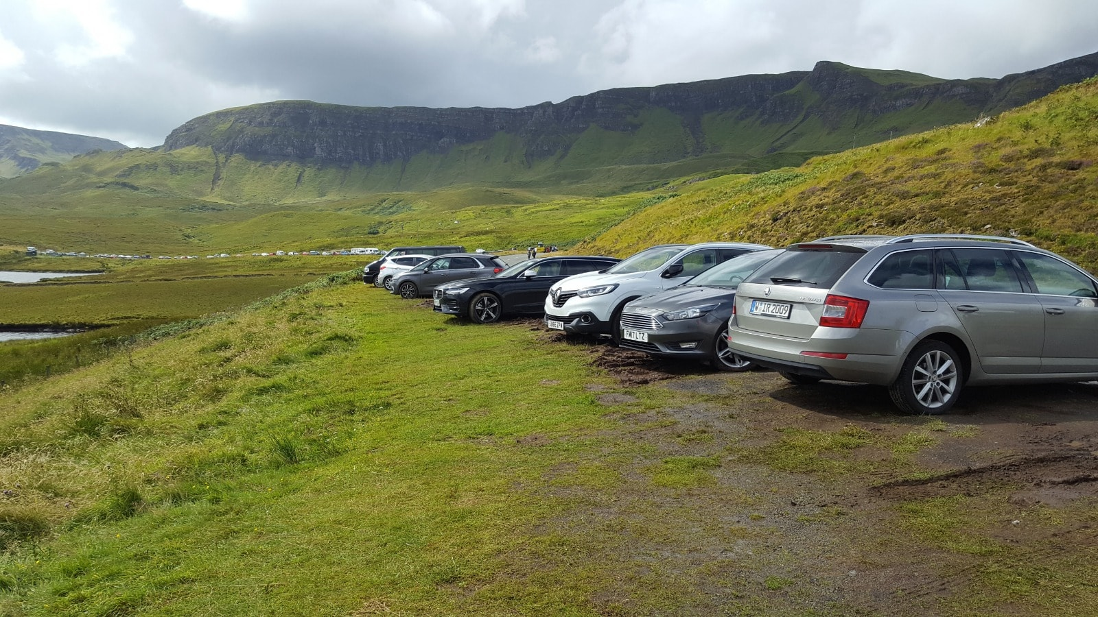 Parking at the car park for Storr on Skye will soon be improved.