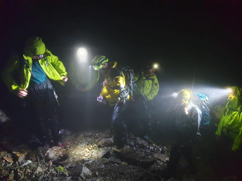 Skye Mountain Rescue team were called to two incidents on Saturday.