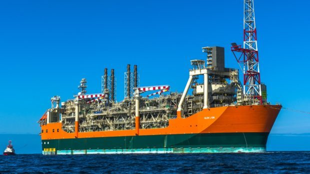 BP's Glen Lyon FPSO.