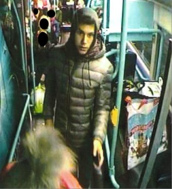 Police released this CCTV image today.