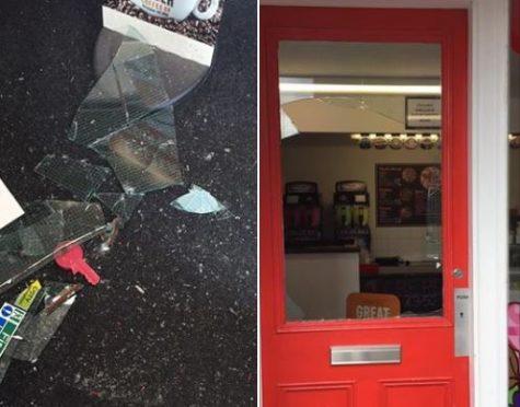 The Candy Shop Elgin was broken into last night.